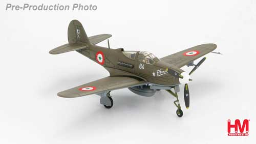 P-39Q Airacobra 4 Stormo, Italian Co-Belligerent Air Force, Italy, 1945  (1:72)