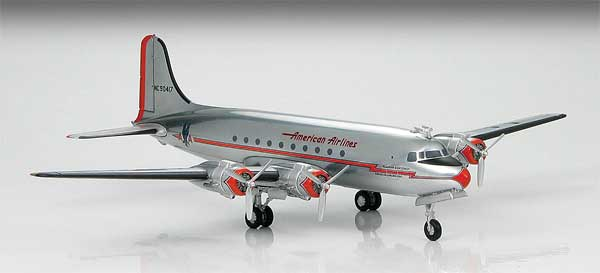 American Airlines Douglas DC-4 (1:200) by Hobby Master