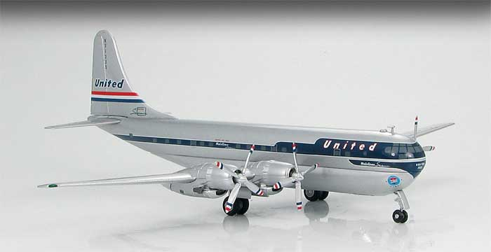 United Airlines B377 Stratocruiser (1:200)