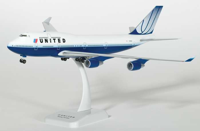 United B747 400 New Colors 1 200 By
