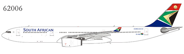 NG Model 62006 Airbus A330-343 South African Airways ZS-SXM  in 1:400 Scale