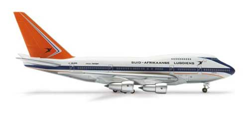 South African 747SP (1:400)