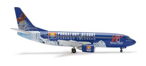 Western Pacific 737-300 Spirit Of Durango (1:400)