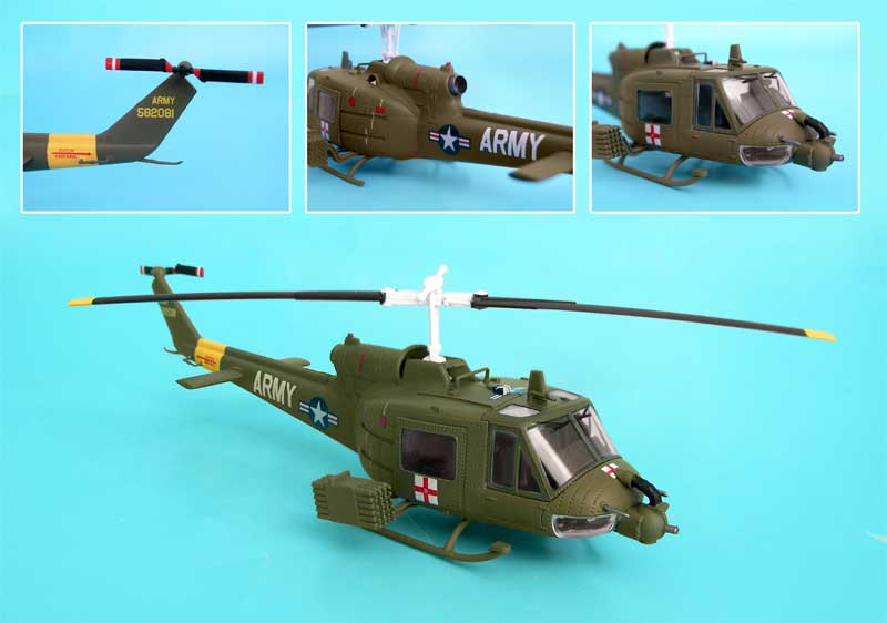 Uh-1b Huey Us Army Nam (1:72)