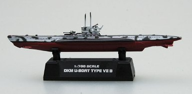German Type Vii B U-Boat (1:700)