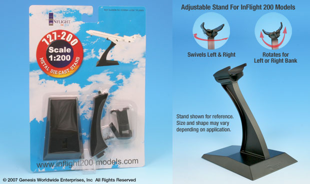 Boeing 727 Display stand (1:200)