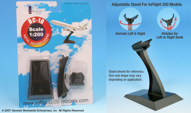 DC-10 Display stand (1:200)