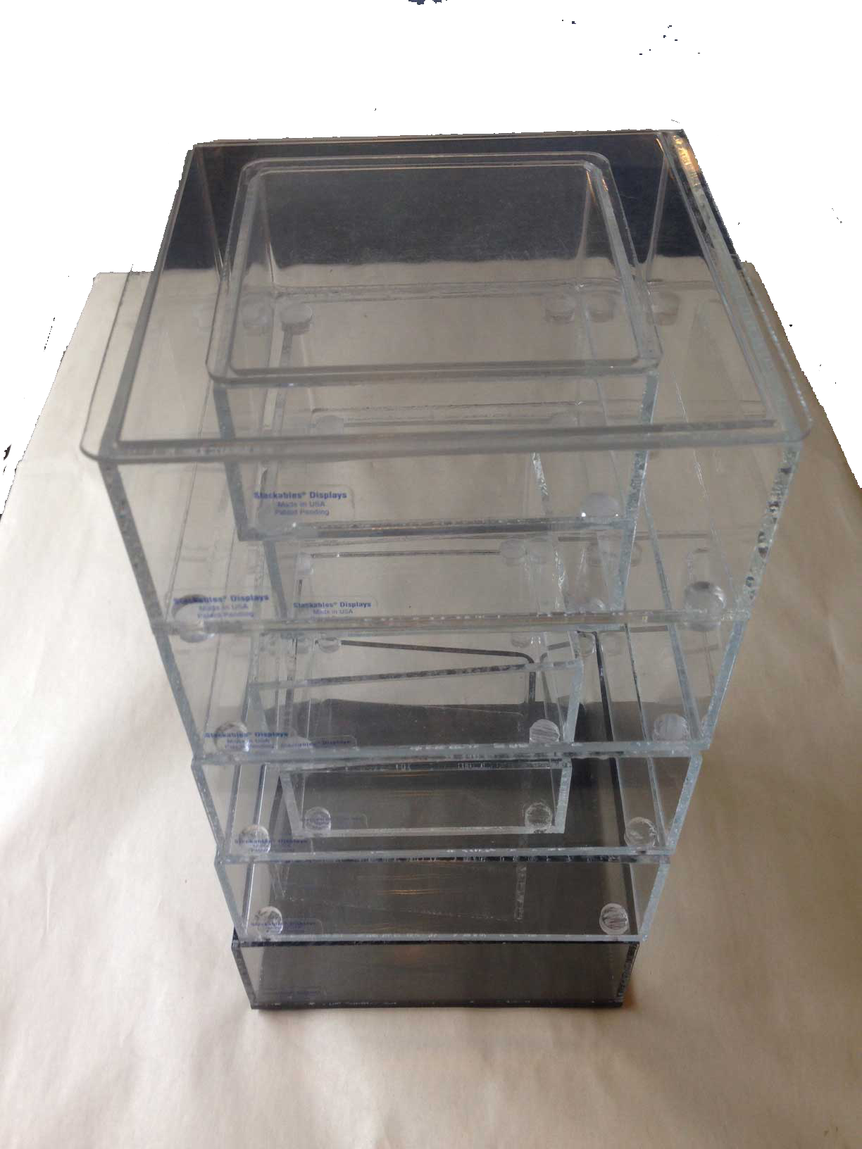 Aero Classics Stackable Display Case for 1:400, 1:500,  planes (5 Tiers)
