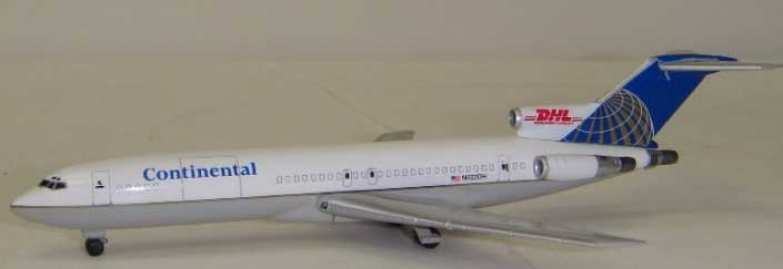 Dragon Wings Continental Airlines B 727-264AF 1:400