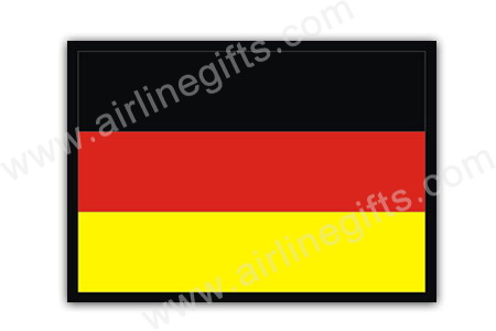 Germany Flag Patch (Iron On Applique) APP305