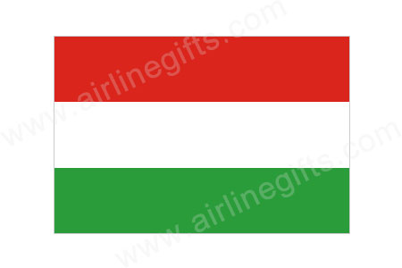 Hungary Flag Patch (Iron On Applique) APP317