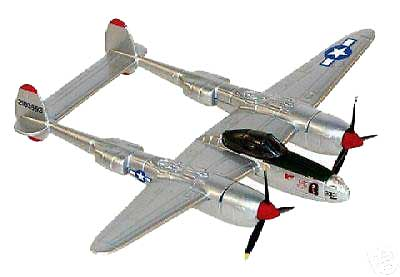 "P-38  Richard Bong  (3"" Showcase)"