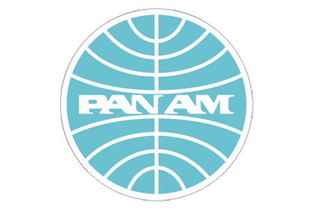 Pan Am Patch (Iron On Applique)