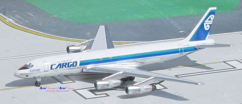 Air New Zealand Cargo DC-8-54F ZK-NZD (1:400)