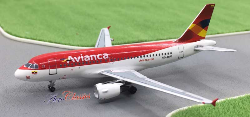 Avianca Colombia A319 HK-4552 (1:400)