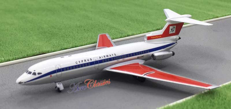 Cyprus Airways Trident 2 5B-DAC (1:400)