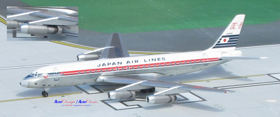 Japan Air Lines DC-8-32 JA8001 (1:400)
