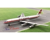 Swissair DC-8-32 with Ground Support Equipment Set HB-IDA (1:400)