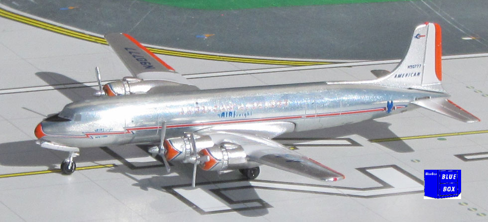 American Airlines Freight DC-6 N90777 (1:400)