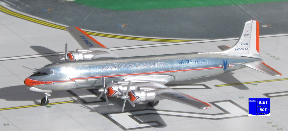 American Airlines Frieght  DC-7 N394AA (1:400)