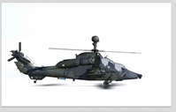 Eurocopter 665 Tiger 74-26, Attack Helicopter Regiment 36, German Army, Fritzlar Airfield, Germany (1:72) NEW TOOL!