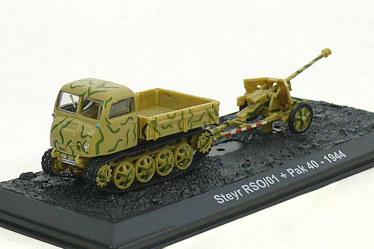 Steyr RSO/01 with Pak 40, German Army, 1944 (1:72)