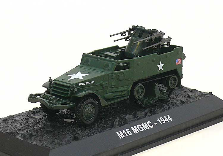M16 Multiple Gun Motor Carriage, U.S. Army, 1944 (1:72)
