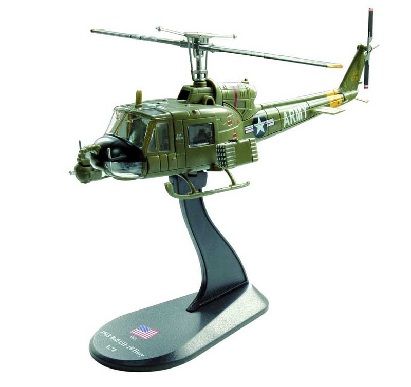 "Bell UH-1B ""Heavy Hog"", 128th AHC ""Gunslingers,"" U.S. Army, 1968 (1:72)"