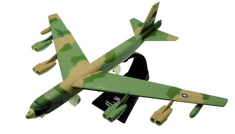 "B-52H Stratofortress, ""Yosemite Sam,"" 319th Bomb Wing, U.S. Air Force, 1981 (1:200)"