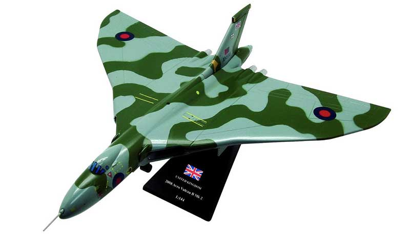 "Avro Vulcan B Mk.2, ""The Spirit of Great Britain"" (only flying Vulcan), Vulcan to the Sky Trust, 2008 (1:144)"
