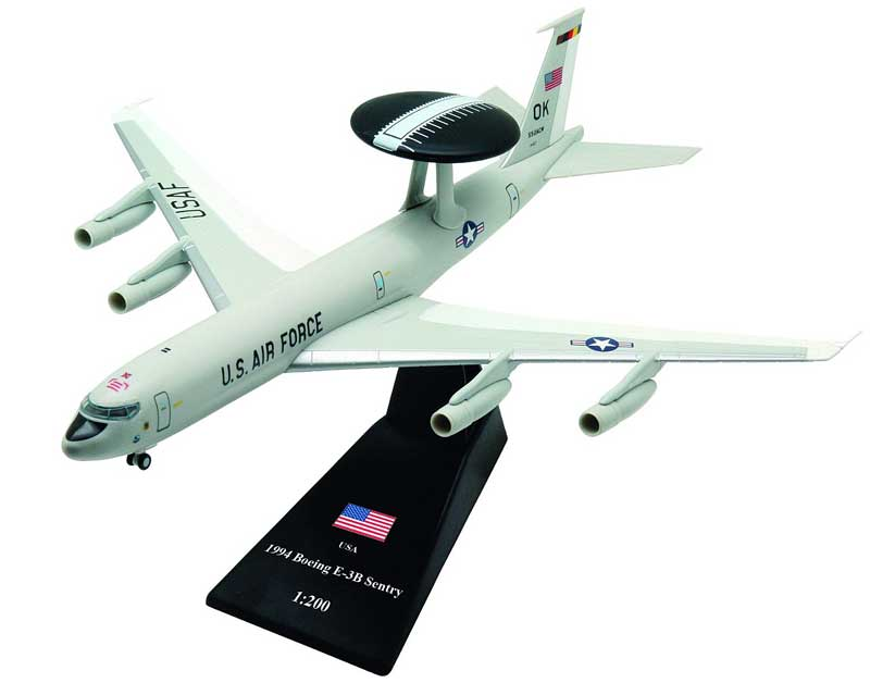 E-3B Sentry, 552nd Air Control Wing, U.S. Air Force, 1994 (1:200)