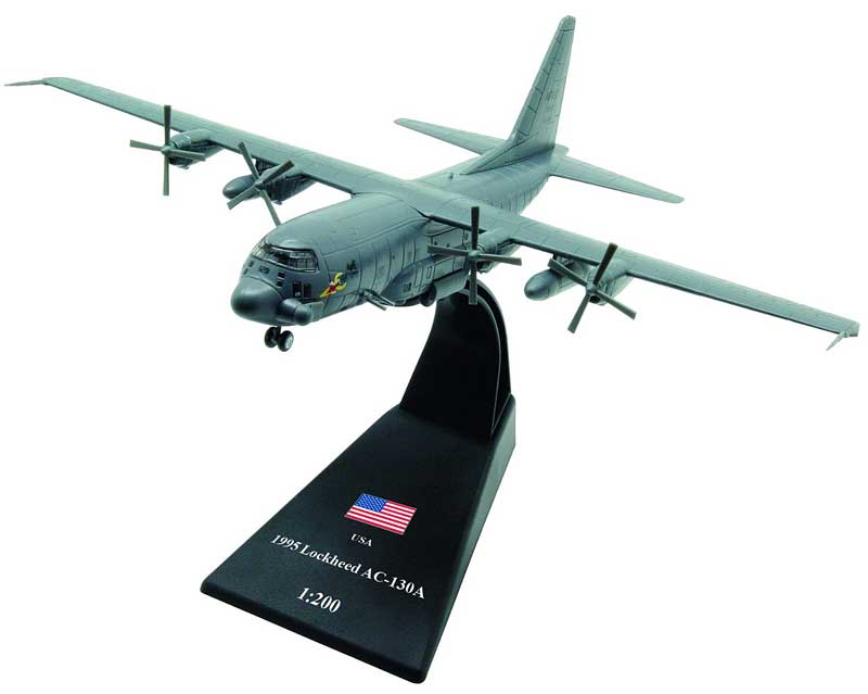 AC-130A Gunship II, U.S. Air Force Reserve, 1995 (1:200)
