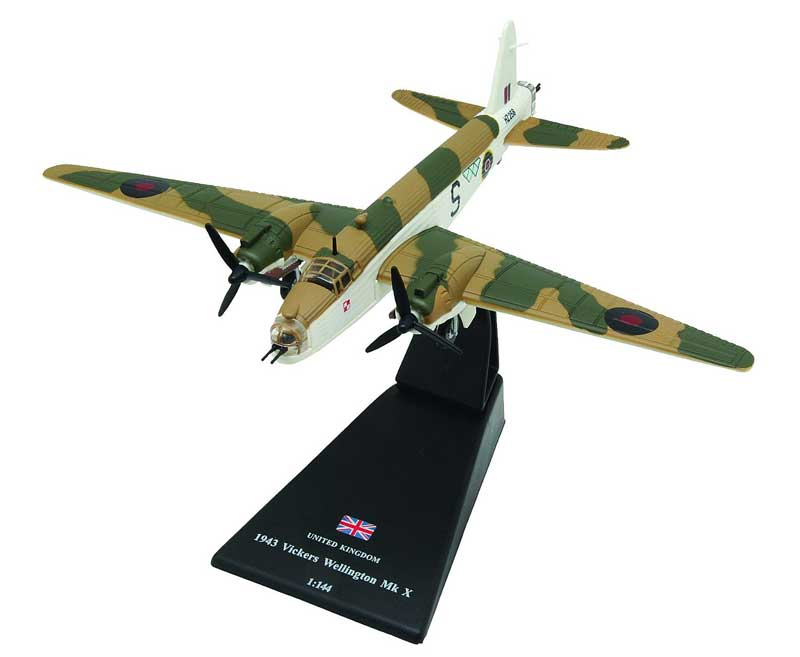 Vickers Wellington Mk.X, No. 304 (Polish) Squadron, RAF Coastal Command, 1943 (1:144)