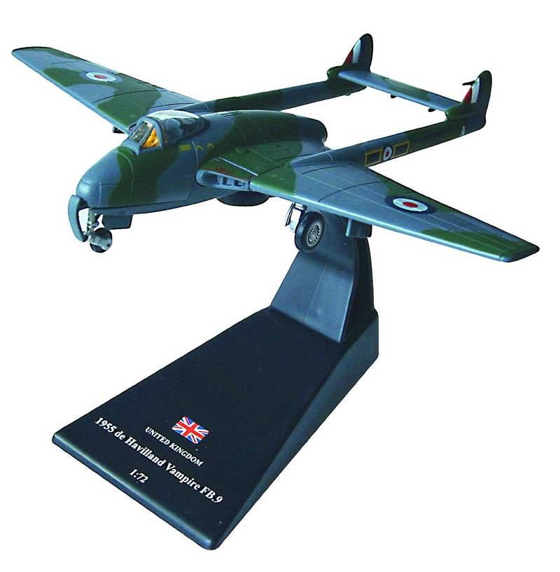 de Havilland Vampire FB.9, RAF No. 28 Squadron, Hong Kong, 1955 (1:72)