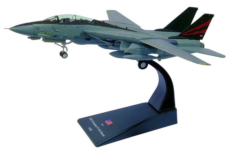 "F-14A Tomcat, VF-154 ""Black Knights,"" USS Kitty Hawk, Operation Iraqi Freedom, 2003 (1:100)"