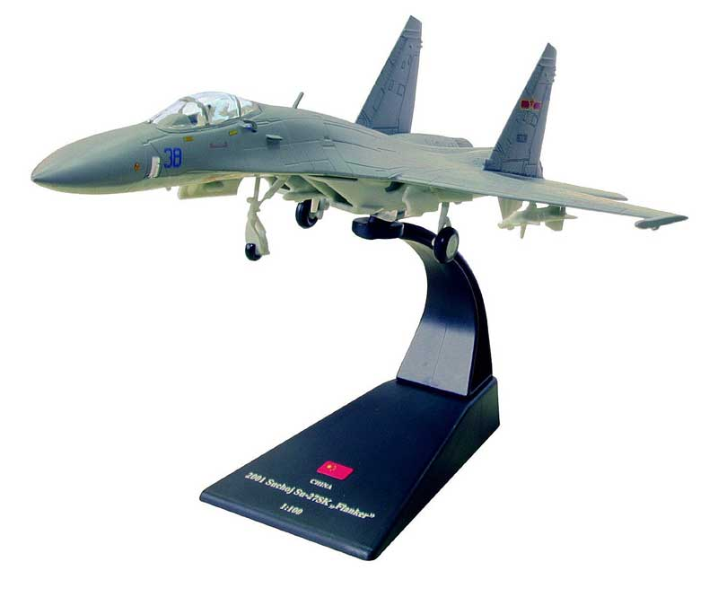 Su-27SK Flanker, People's Liberation Army Air Force, People's of China, 2001 (1:100)