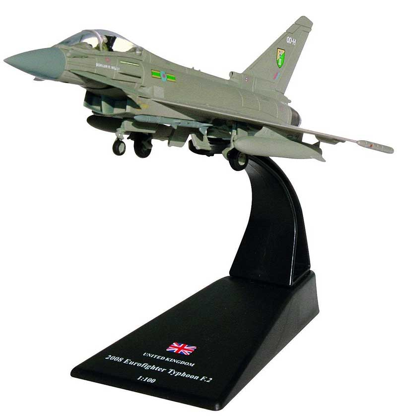 Eurofighter Typhoon F.2, 3 Squadron, Royal Air Force, 2008 (1:100)