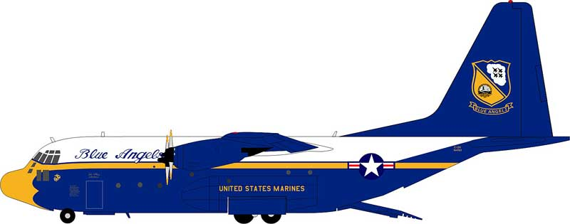"US Marines C-130 Hercules ""Blue Angels"" (1:200)"
