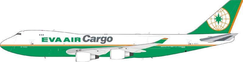 EVA Air Cargo 747-45EF/SCD B-16409  (1:200) - Preorder item, order now for future delivery
