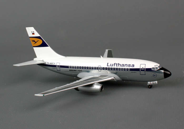 "Lufthansa 737-100 D-ABEA ""Experimental"", Polished (1:200)"