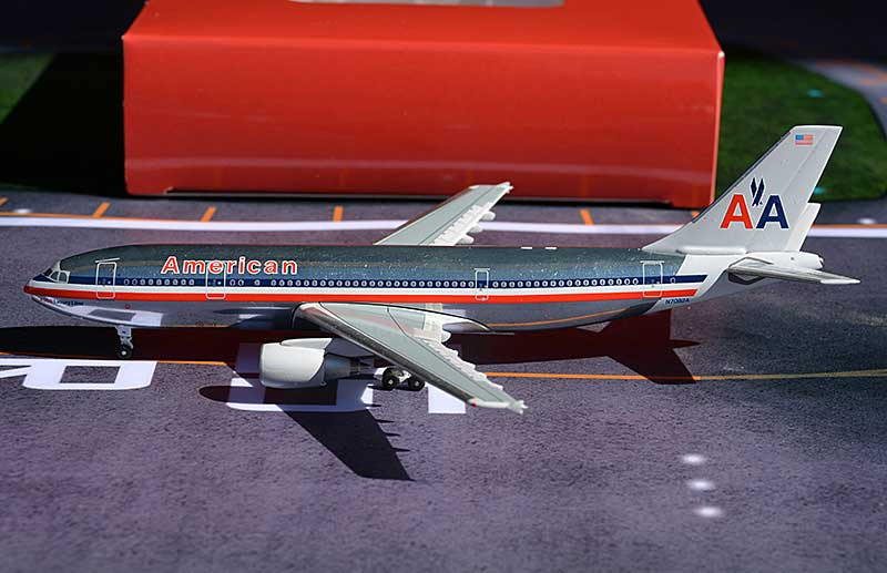 American Airlines A300 N7082A, Polished (1:400)