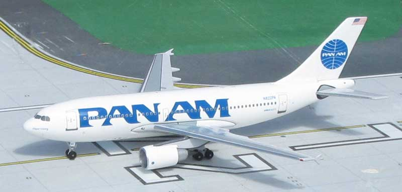 Pan American World Airways A310-222, N822PA 1990's Billboard Colors (1:400)