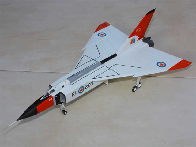Avro CF-105 Arrow (1:72) - CWH001