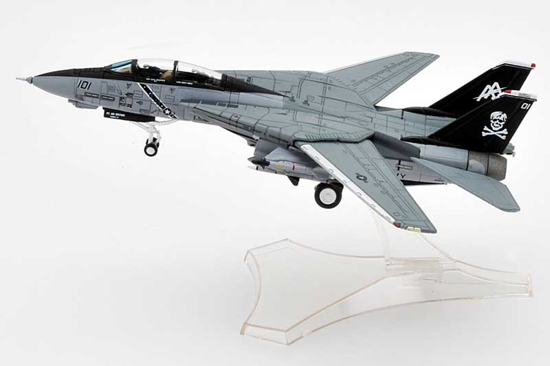F-14A Tomcat, USN VF-84 Jolly Rogers, AJ200, USS Theodore Roosevelt, Operation Desert Storm, 1991 (1:144)