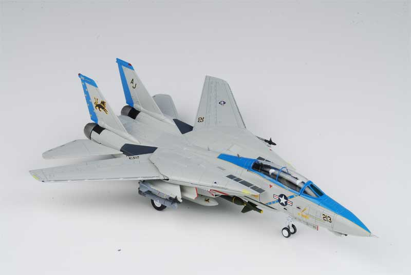 F-14D Tomcat, USN VF-213 Black Lions, AJ213, USS Theodore Roosevelt, Last F-14 Cruise 2006 (1:72) - Preorder item, order now for future delivery