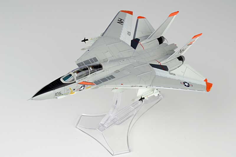 Grumman F-14A Tomcat Diecast Model USN VF-114 Aardvarks, NH105, USS Kitty Hawk, 1978 (1:72) - Preorder item, order now for future delivery