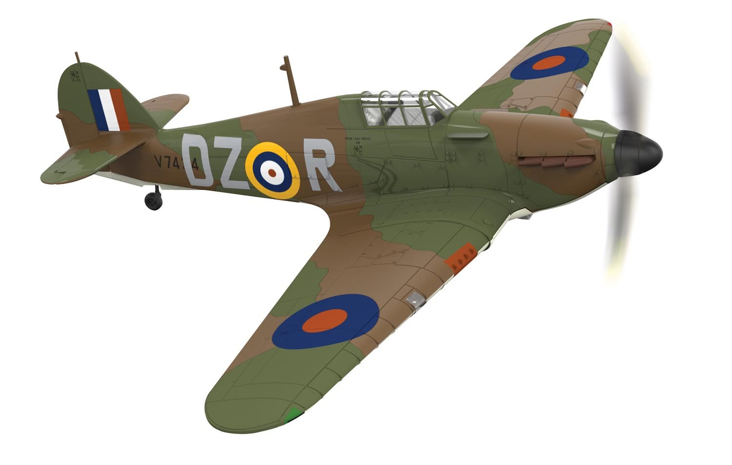 Hawker Hurricane Mk.I, 151st Sqn., V7434, Irving Smith, RAF Digby, England, 1940 (1:72)  NEW TOOL!