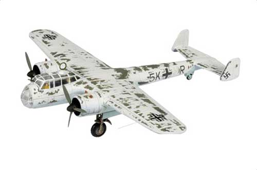 Dornier Do 17Z Luftwaffe 7./KG 3, Russian Front, Winter 1941 (1:72)