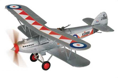 Hawker Hart Mk I RAF No.600 Sqn, RAF Hendon, London, 1935 (1:72)