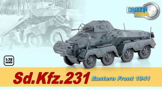 Sd.Kfz.231 Eastern Front 1941 (1:72)
